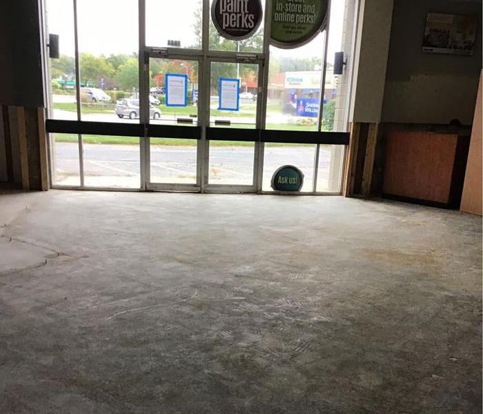 Storm Floods Caused Water Damage to Commercial Property After