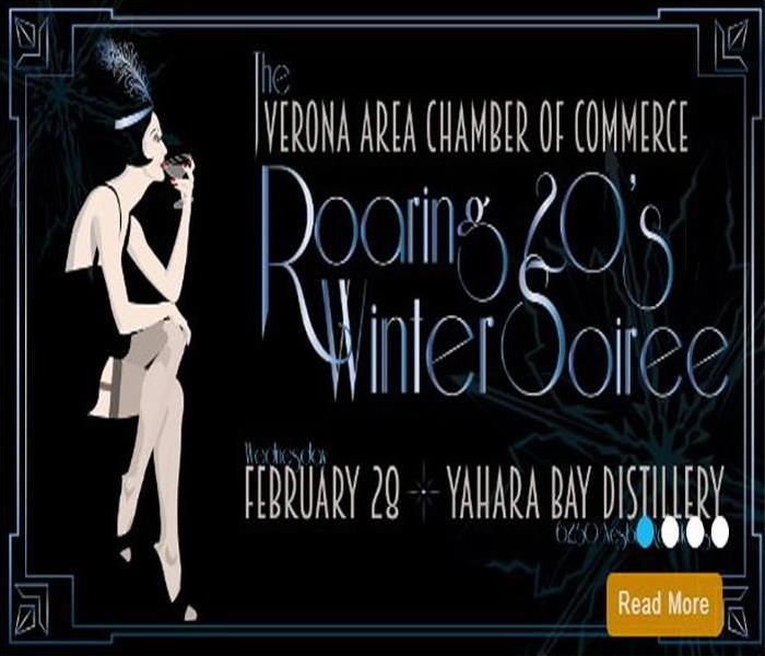 Winter Soirée from the Verona Area Chamber of Commerce at Yahara Bay Distillers