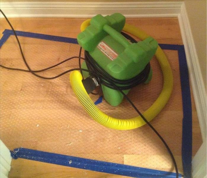 Saving Hardwood Floors from Water Damage