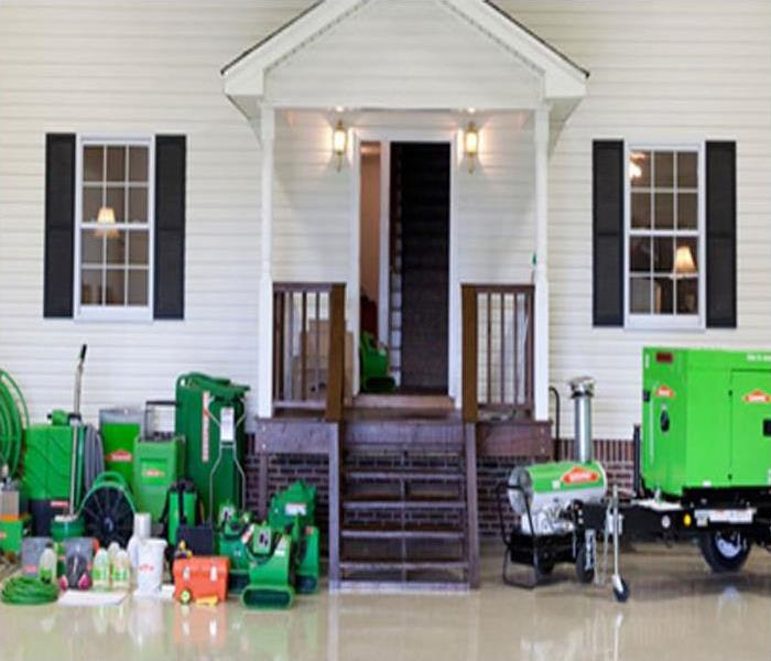 Water Damage SERVPRO of Dane County West Uses Advanced Industrial Equipment for all Restoration Jobs