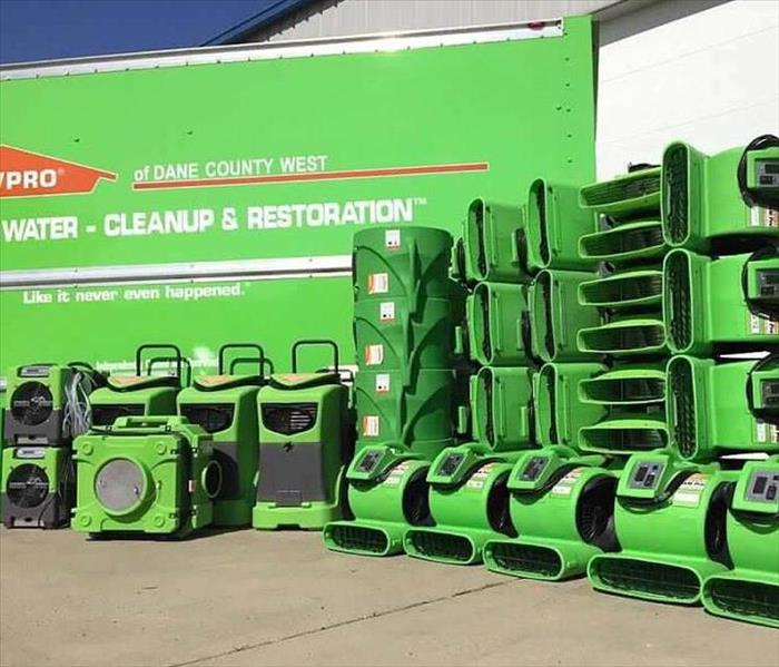 Why SERVPRO When Time Matters, Technology and Equipment Must be Counted On To Perform