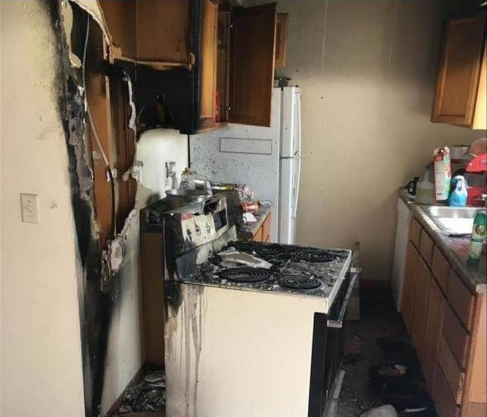 Fire Damage SERVPRO Understands the Trauma of Fire Disasters