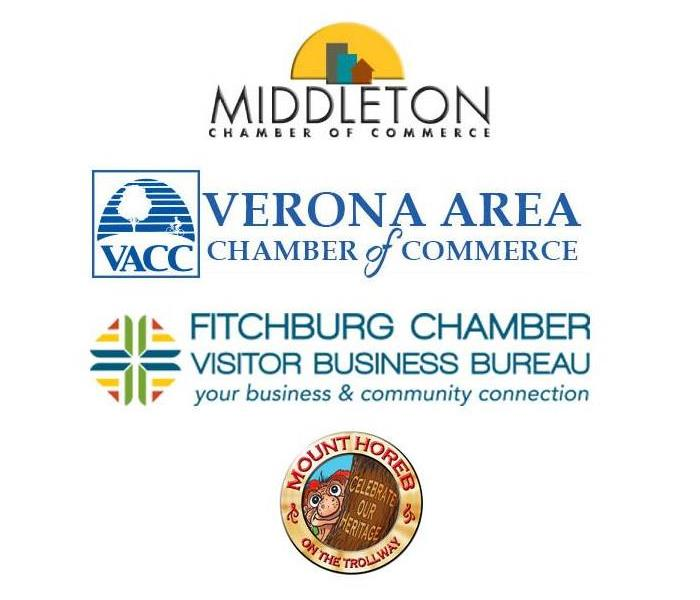 Why SERVPRO SERVPRO of Dane County West is a proud member of: The Middleton Chamber of Commerce, The Verona Chamber of Commerce, The Fitchburg Chamber of Commerce