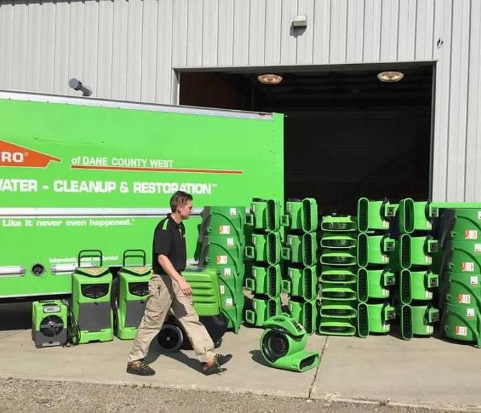Why SERVPRO The SERVPRO Difference - The Drying Process