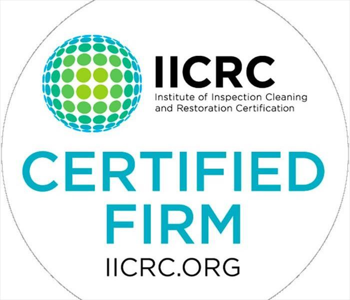 logo for IICRC certified firm