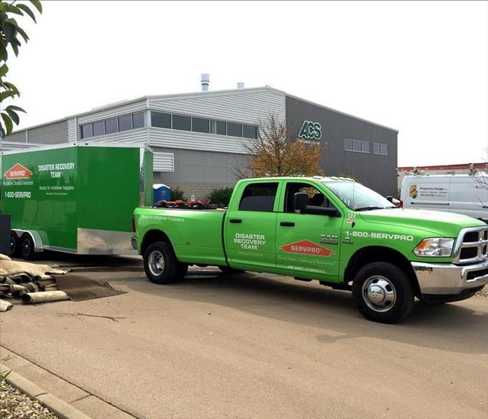 Storm Damage Thank you SERVPRO National Storm Teams who have come to Dane County from across the country